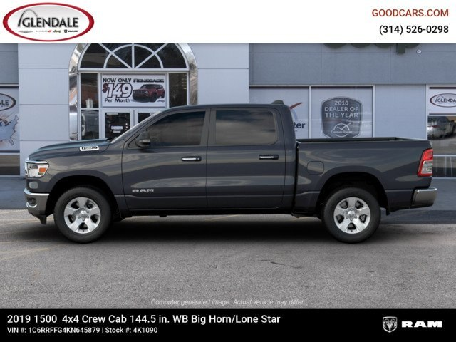 2019 Ram 1500 Crew Cab 4x4,  Pickup #4K1090 - photo 5