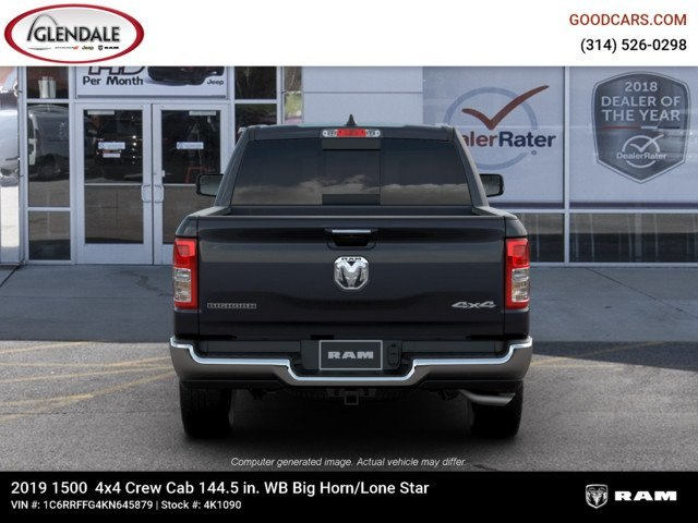 2019 Ram 1500 Crew Cab 4x4,  Pickup #4K1090 - photo 7