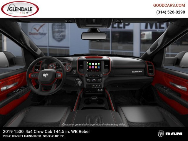 2019 Ram 1500 Crew Cab 4x4,  Pickup #4K1091 - photo 15