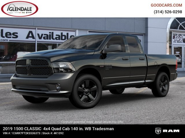 2019 Ram 1500 Quad Cab 4x4,  Pickup #4K1092 - photo 1