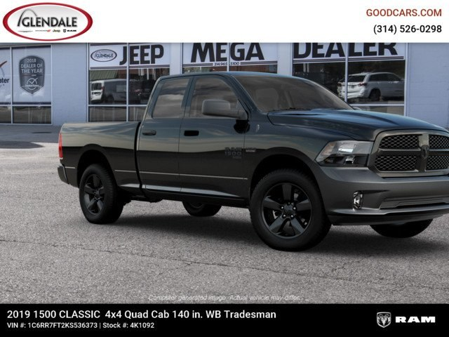 2019 Ram 1500 Quad Cab 4x4,  Pickup #4K1092 - photo 11