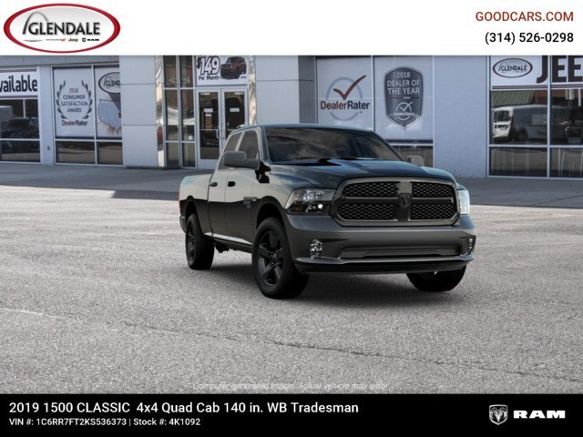 2019 Ram 1500 Quad Cab 4x4,  Pickup #4K1092 - photo 12