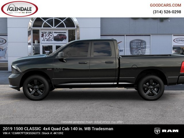 2019 Ram 1500 Quad Cab 4x4,  Pickup #4K1092 - photo 5