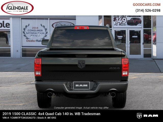 2019 Ram 1500 Quad Cab 4x4,  Pickup #4K1092 - photo 7