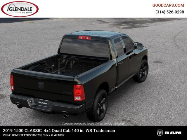 2019 Ram 1500 Quad Cab 4x4,  Pickup #4K1092 - photo 8