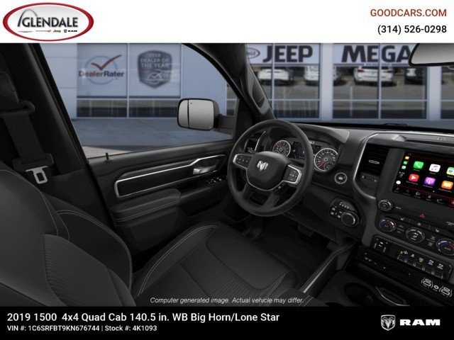 2019 Ram 1500 Quad Cab 4x4,  Pickup #4K1093 - photo 18