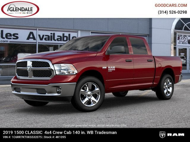 2019 Ram 1500 Crew Cab 4x4,  Pickup #4K1095 - photo 1