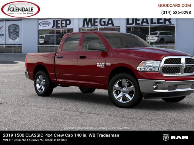 2019 Ram 1500 Crew Cab 4x4,  Pickup #4K1095 - photo 11