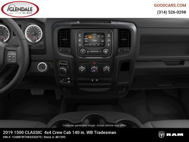 2019 Ram 1500 Crew Cab 4x4,  Pickup #4K1095 - photo 15
