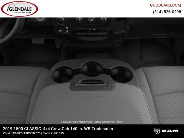 2019 Ram 1500 Crew Cab 4x4,  Pickup #4K1095 - photo 16