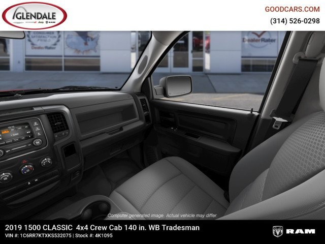 2019 Ram 1500 Crew Cab 4x4,  Pickup #4K1095 - photo 17