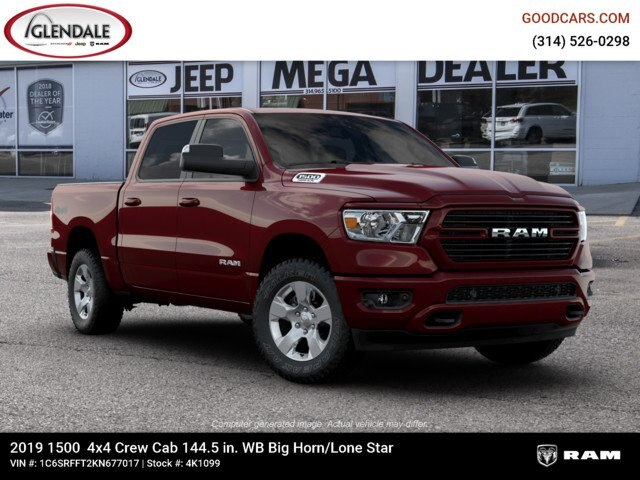 2019 Ram 1500 Crew Cab 4x4,  Pickup #4K1099 - photo 11