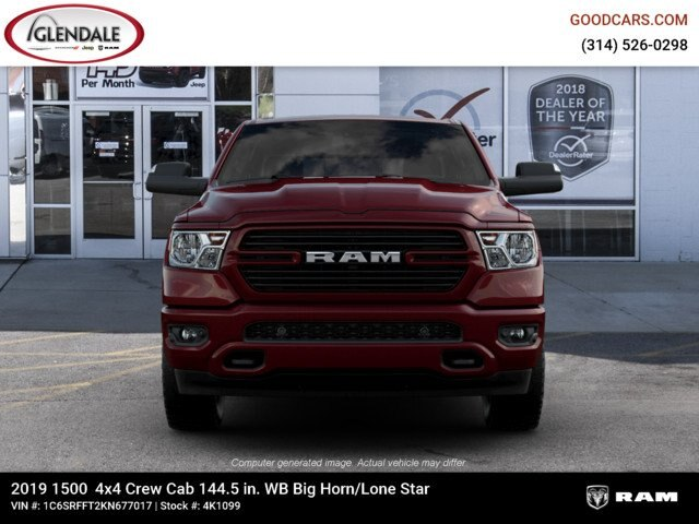 2019 Ram 1500 Crew Cab 4x4,  Pickup #4K1099 - photo 1