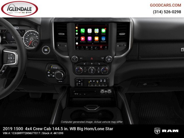 2019 Ram 1500 Crew Cab 4x4,  Pickup #4K1099 - photo 14