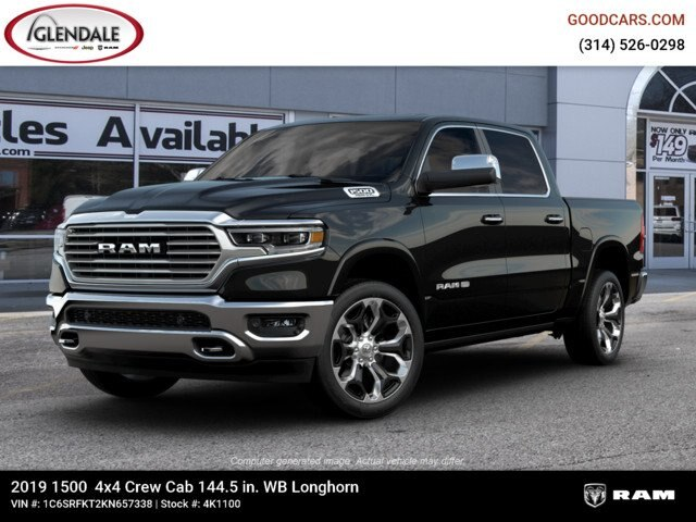 2019 Ram 1500 Crew Cab 4x4,  Pickup #4K1100 - photo 1