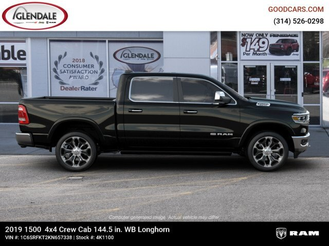 2019 Ram 1500 Crew Cab 4x4,  Pickup #4K1100 - photo 10