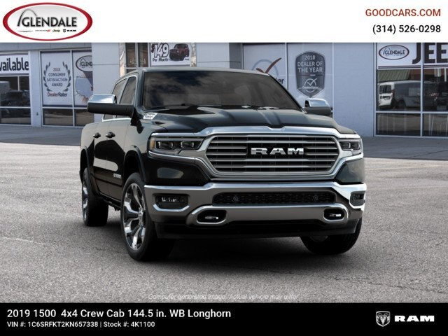 2019 Ram 1500 Crew Cab 4x4,  Pickup #4K1100 - photo 14