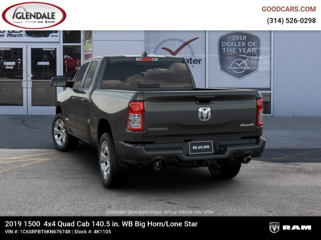 2019 Ram 1500 Quad Cab 4x4,  Pickup #4K1105 - photo 16