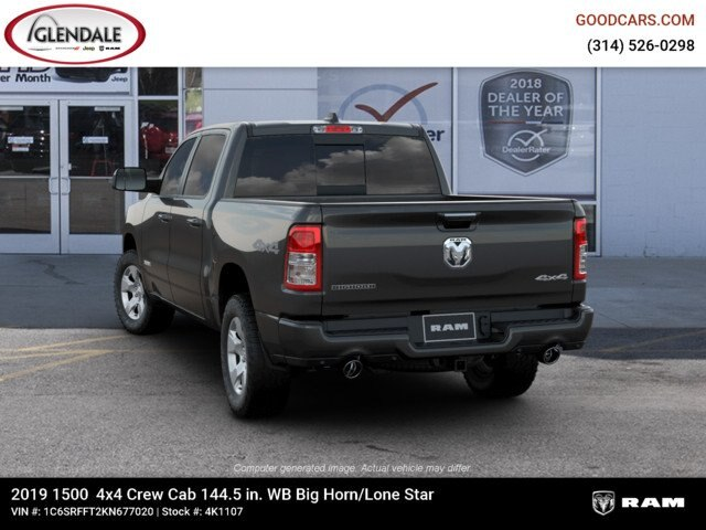2019 Ram 1500 Crew Cab 4x4,  Pickup #4K1107 - photo 11