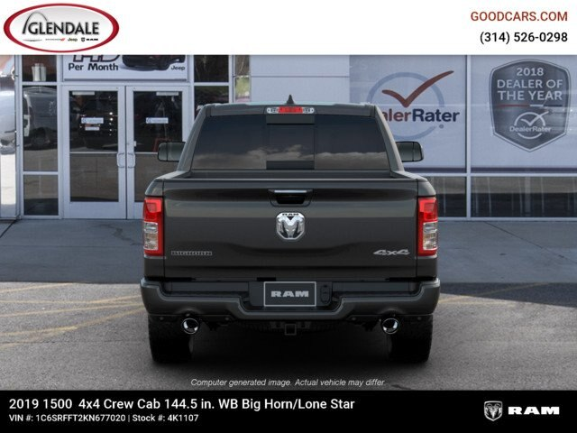 2019 Ram 1500 Crew Cab 4x4,  Pickup #4K1107 - photo 14