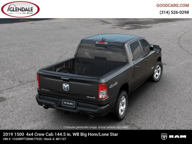 2019 Ram 1500 Crew Cab 4x4,  Pickup #4K1107 - photo 15