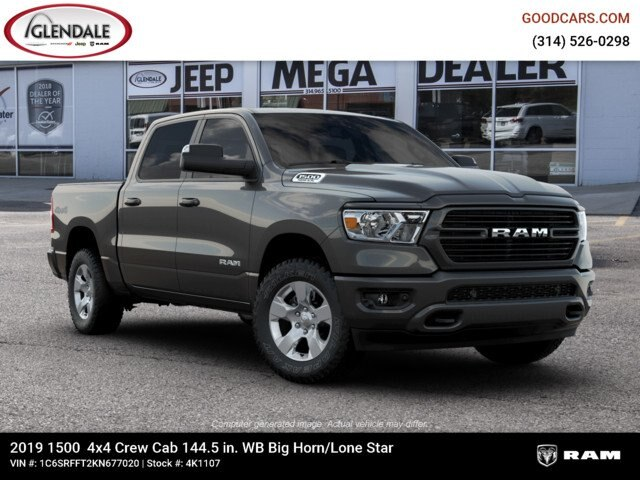 2019 Ram 1500 Crew Cab 4x4,  Pickup #4K1107 - photo 22