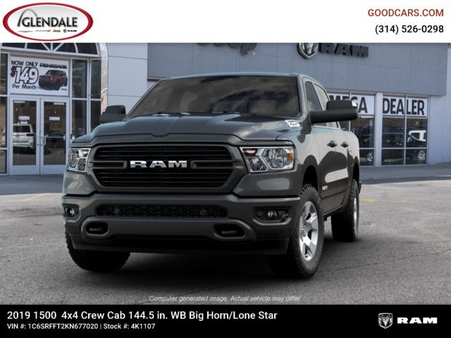 2019 Ram 1500 Crew Cab 4x4,  Pickup #4K1107 - photo 2