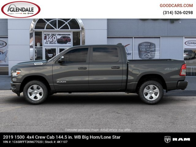 2019 Ram 1500 Crew Cab 4x4,  Pickup #4K1107 - photo 8