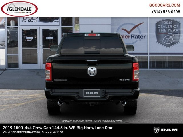 2019 Ram 1500 Crew Cab 4x4,  Pickup #4K1108 - photo 14