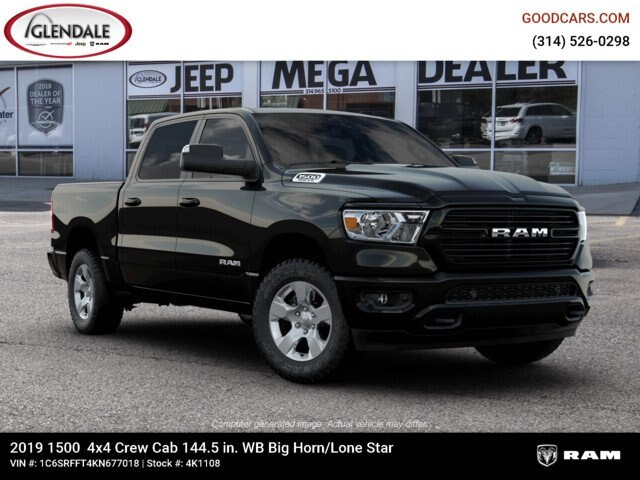 2019 Ram 1500 Crew Cab 4x4,  Pickup #4K1108 - photo 21