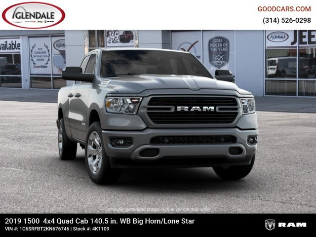 2019 Ram 1500 Quad Cab 4x4,  Pickup #4K1109 - photo 5