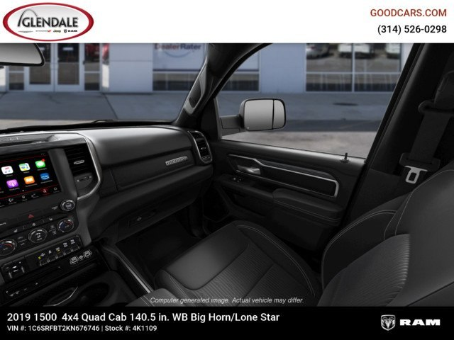 2019 Ram 1500 Quad Cab 4x4,  Pickup #4K1109 - photo 10