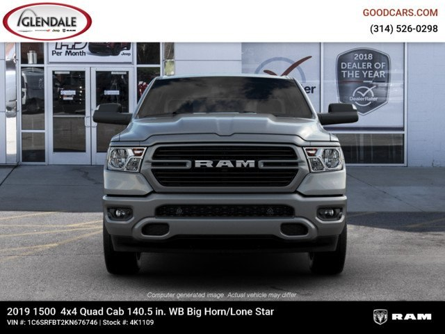2019 Ram 1500 Quad Cab 4x4,  Pickup #4K1109 - photo 12