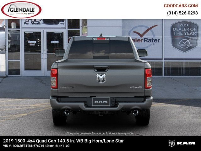 2019 Ram 1500 Quad Cab 4x4,  Pickup #4K1109 - photo 16