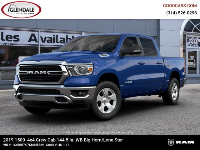 2019 Ram 1500 Crew Cab 4x4,  Pickup #4K1111 - photo 1