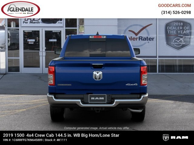 2019 Ram 1500 Crew Cab 4x4,  Pickup #4K1111 - photo 14