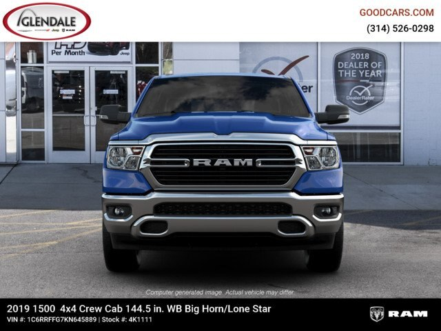 2019 Ram 1500 Crew Cab 4x4,  Pickup #4K1111 - photo 5