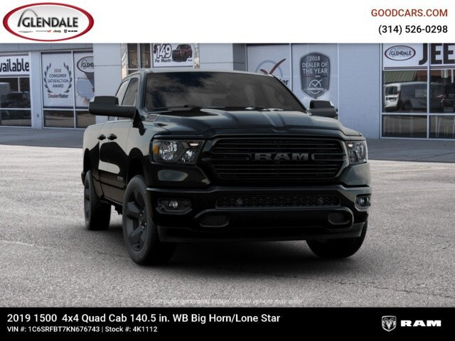 2019 Ram 1500 Quad Cab 4x4,  Pickup #4K1112 - photo 10