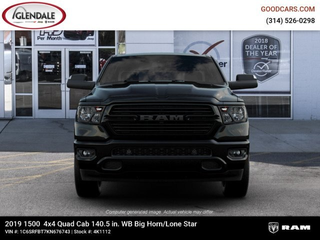 2019 Ram 1500 Quad Cab 4x4,  Pickup #4K1112 - photo 5