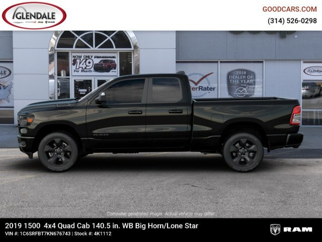 2019 Ram 1500 Quad Cab 4x4,  Pickup #4K1112 - photo 8