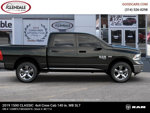 2019 Ram 1500 Crew Cab 4x4,  Pickup #4K1114 - photo 10