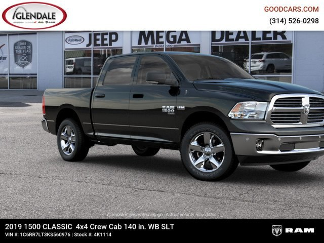2019 Ram 1500 Crew Cab 4x4,  Pickup #4K1114 - photo 11