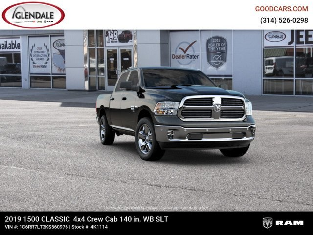 2019 Ram 1500 Crew Cab 4x4,  Pickup #4K1114 - photo 12