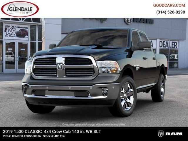 2019 Ram 1500 Crew Cab 4x4,  Pickup #4K1114 - photo 4