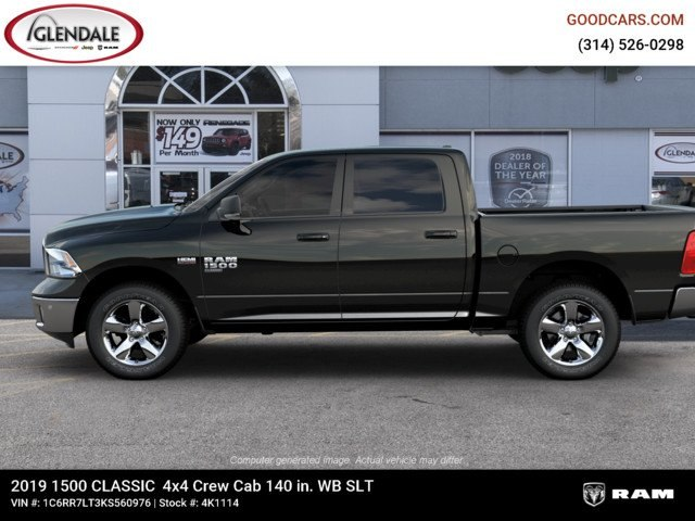 2019 Ram 1500 Crew Cab 4x4,  Pickup #4K1114 - photo 5
