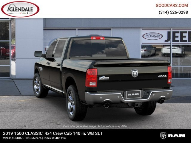 2019 Ram 1500 Crew Cab 4x4,  Pickup #4K1114 - photo 6