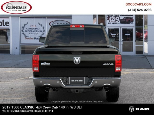 2019 Ram 1500 Crew Cab 4x4,  Pickup #4K1114 - photo 7