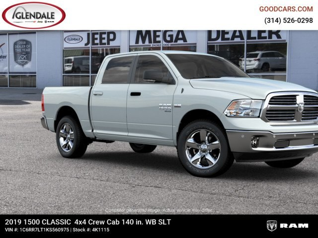 2019 Ram 1500 Crew Cab 4x4,  Pickup #4K1115 - photo 11