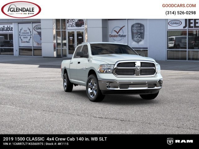 2019 Ram 1500 Crew Cab 4x4,  Pickup #4K1115 - photo 12
