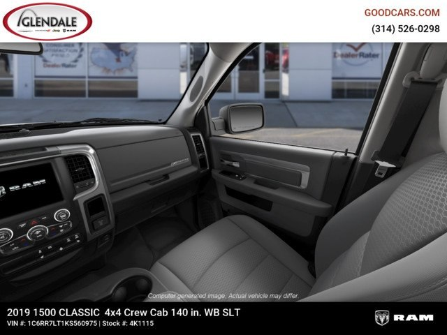 2019 Ram 1500 Crew Cab 4x4,  Pickup #4K1115 - photo 17